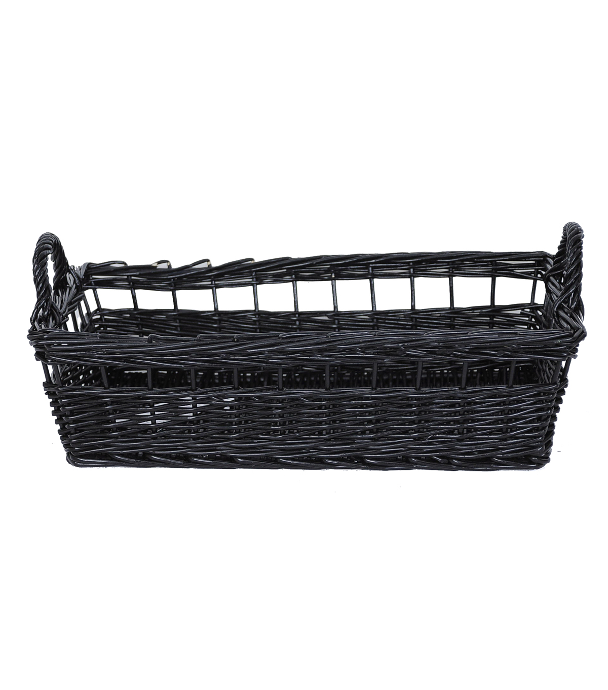 Organizing Essentials™ Rectangle Open Weave Willow Basket