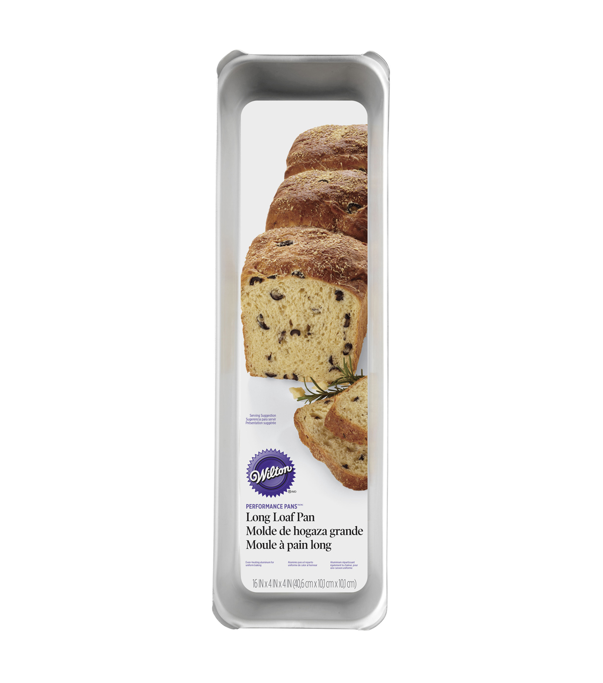 Wilton® Long Loaf Pan-16\u0022X4\u0022X4.5\u0022