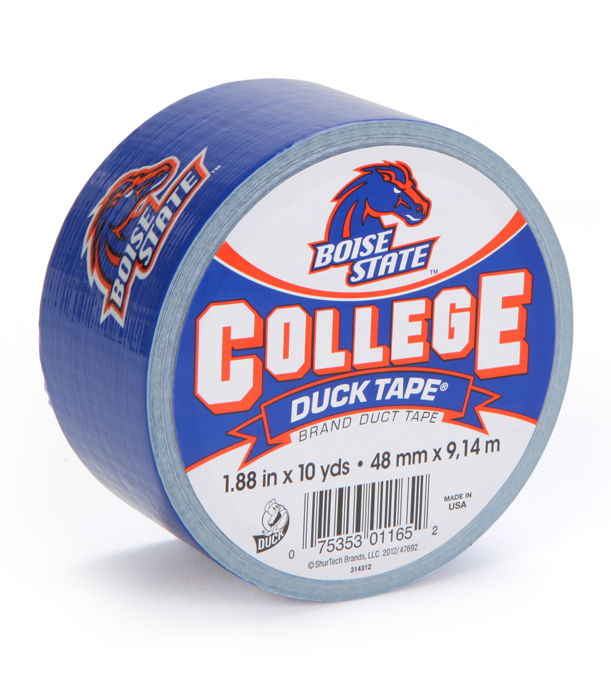 Duck Tape College Logo Boise State
