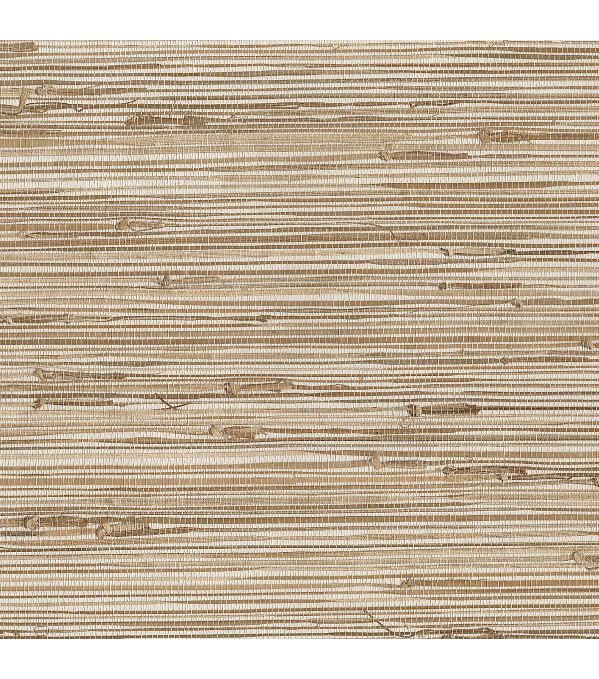 Ting Taupe Grasscloth Wallpaper Sample