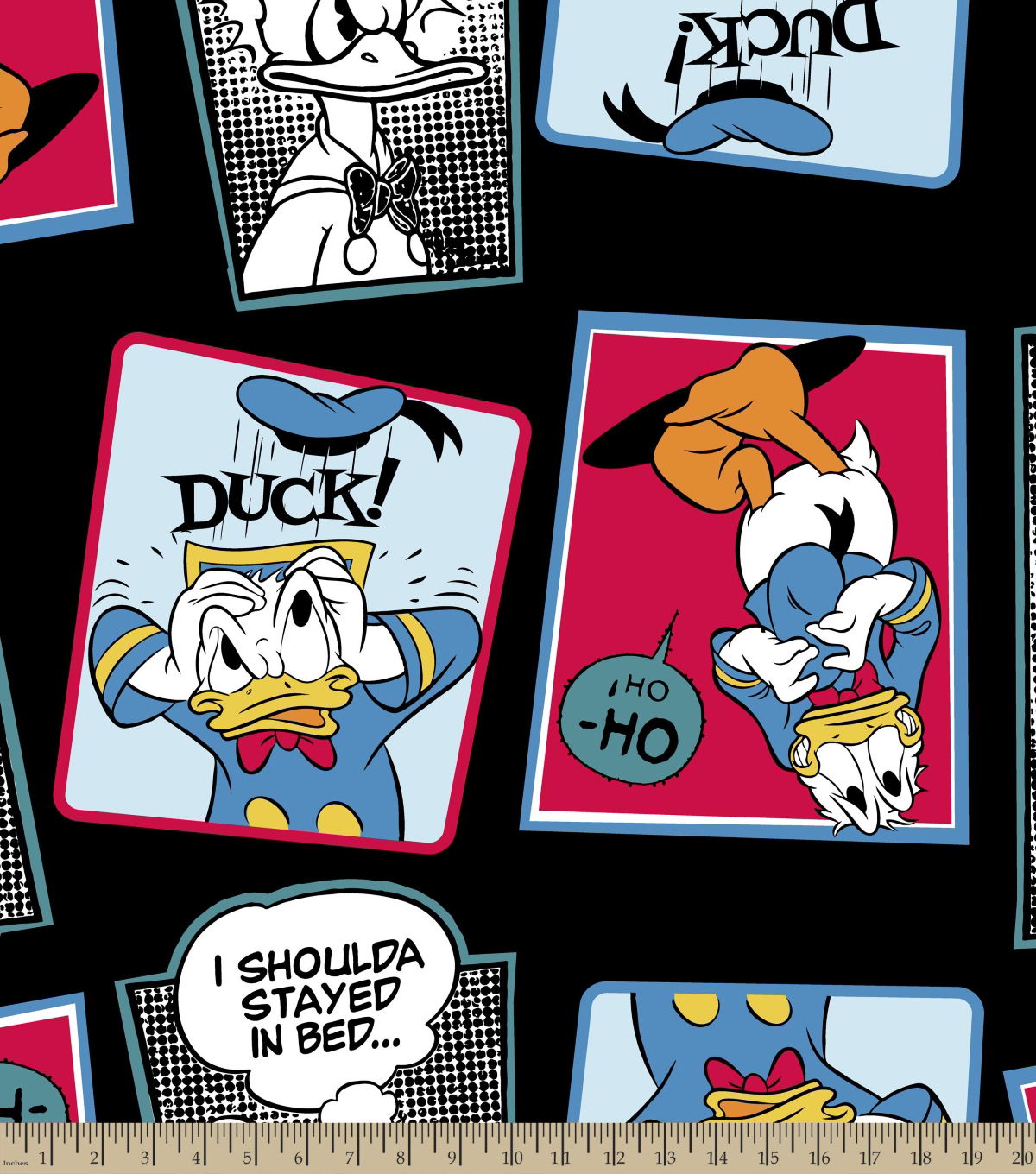 "Disney® Donald Duck Fleece Fabric 59""-Donald Duck Burst"