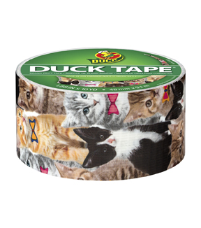 Duck Tape® Br& Duct Tape 1.88 in. x 10 yd.-Kitty Kitty