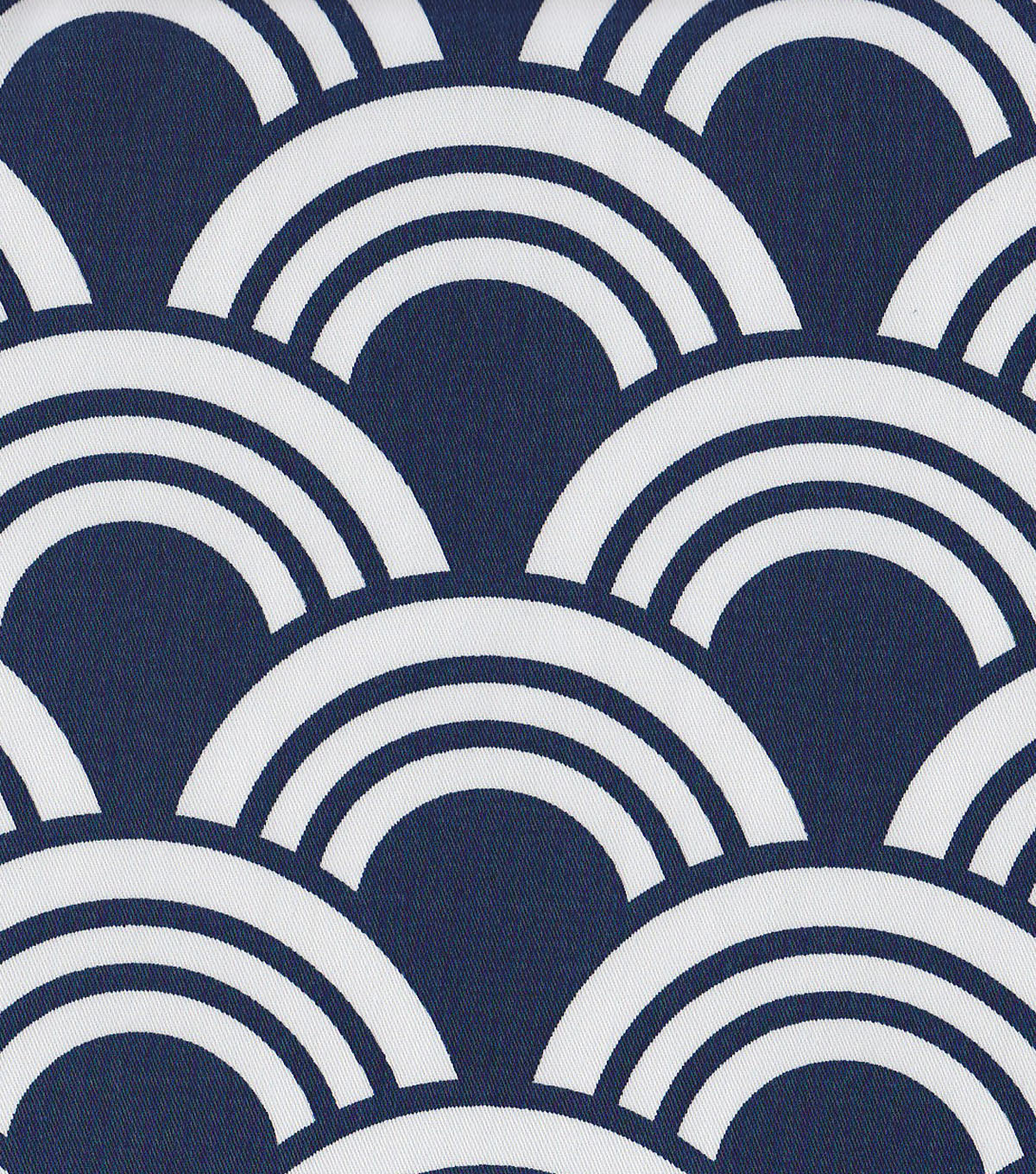 Modern Essentials 54\u0022 Print Fabric-Blue Fan