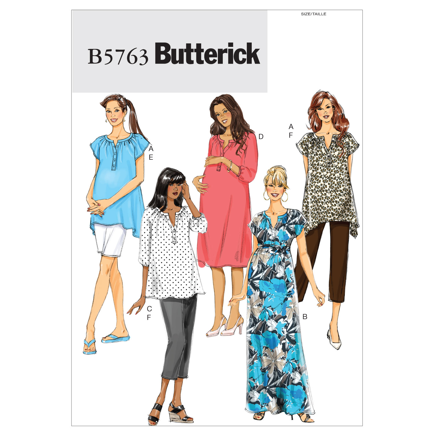 Butterick Women\u0027s Casual-B5763