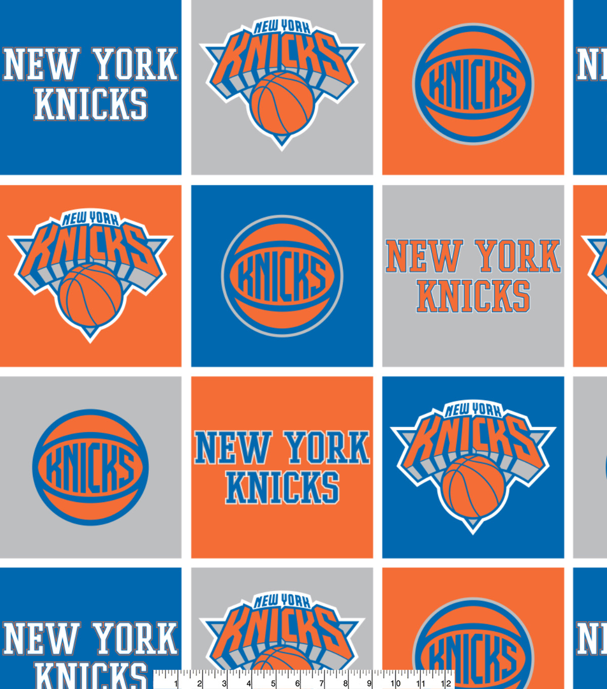 "New York Knicks Fleece Fabric 58""-Block"
