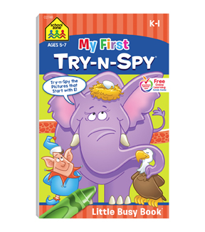 My First Try-N-Spy Little Busy Books