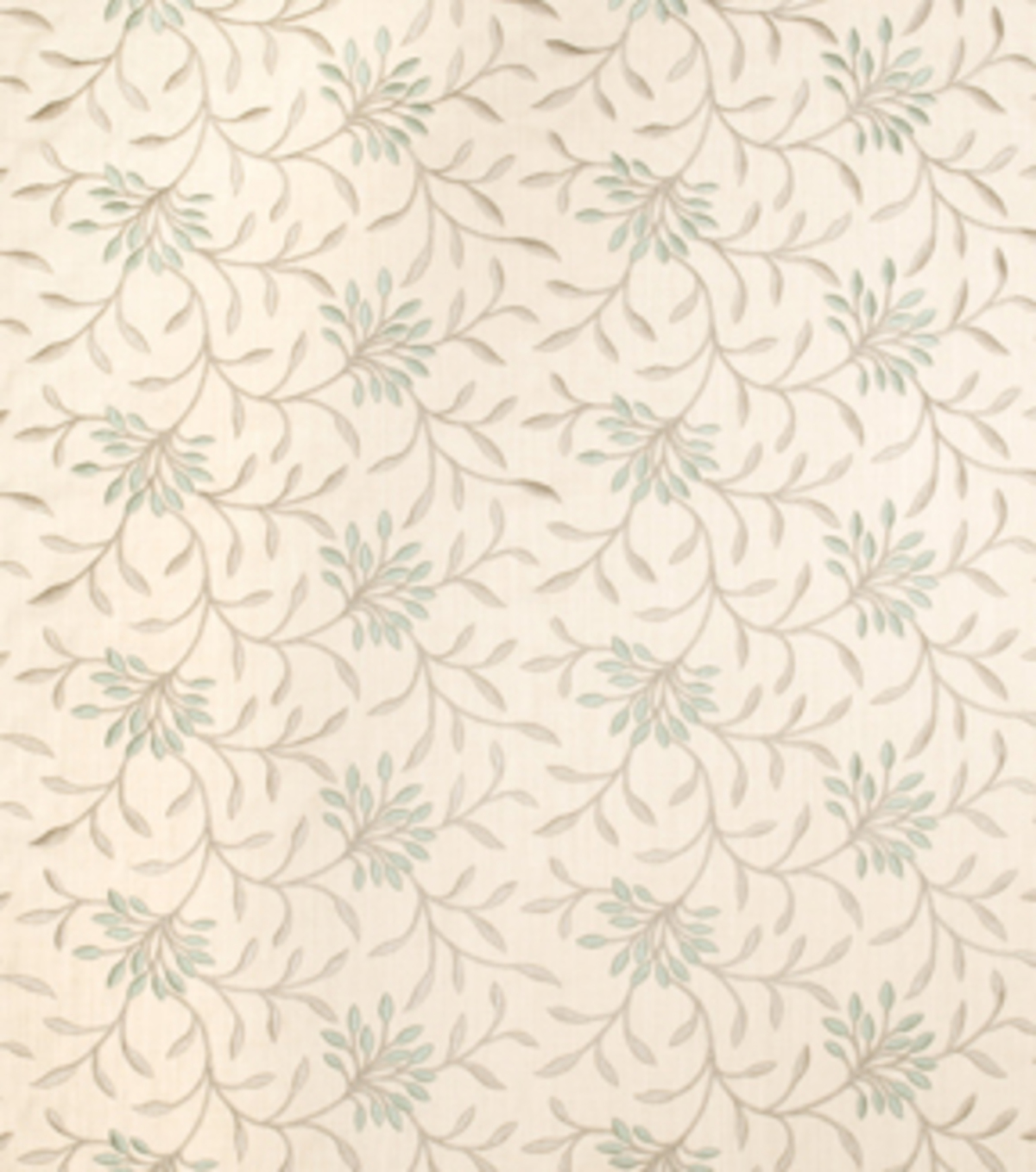 Home Decor 8\u0022x8\u0022 Fabric Swatch-Print Fabric Eaton Square Greenville Lagoon