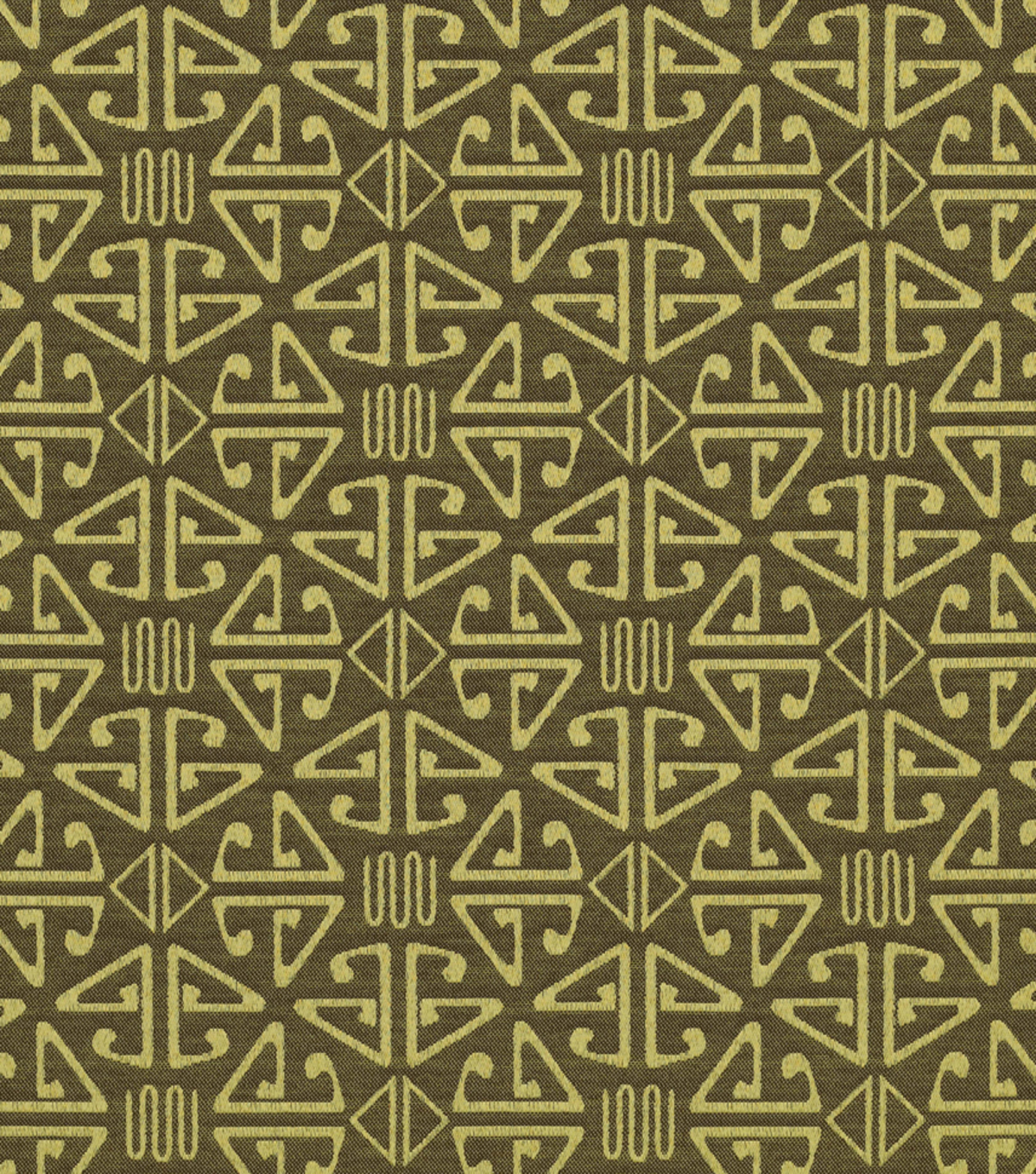 Home Decor Upholstery Fabric-Crypton Aztec-Loden