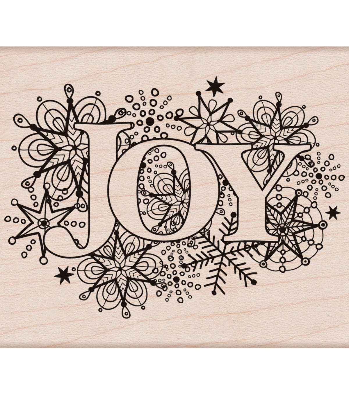 Hero Arts® Wood Mounted Rubber Stamp-Joy Burst