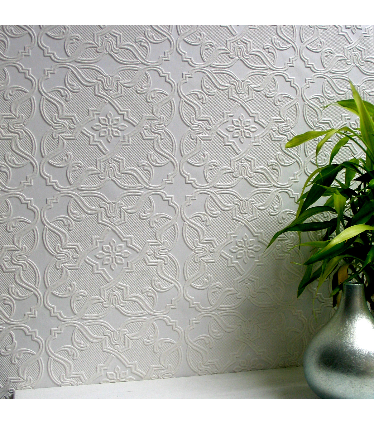 Maxwell Paintable Textured Vinyl Wallpaper Sample