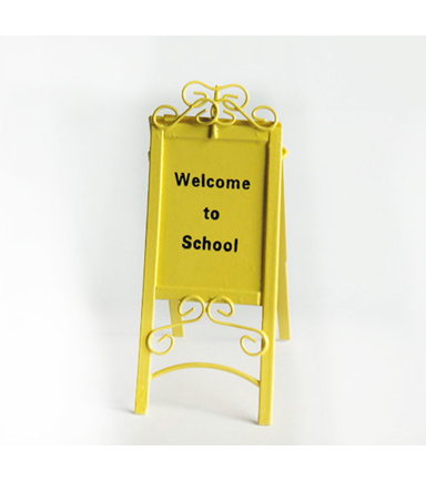 Bloom Room Littles Welcome Sign-Yellow
