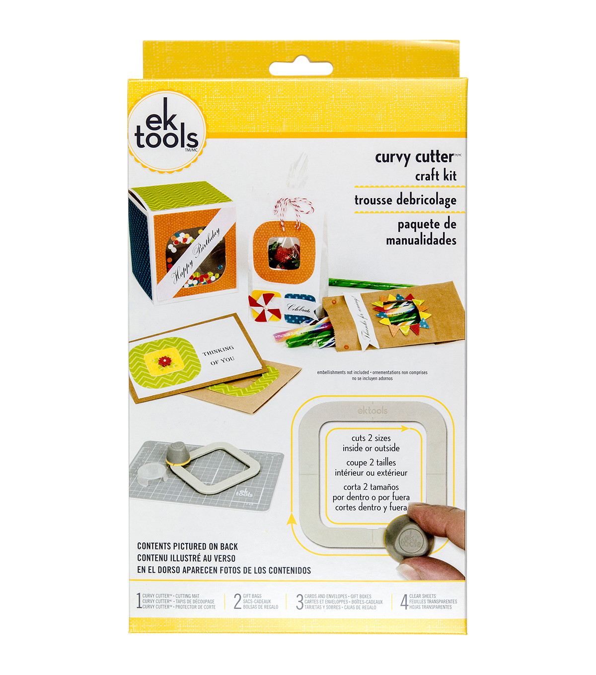 EK Tools® Curvy™ Cutters Craft Kit