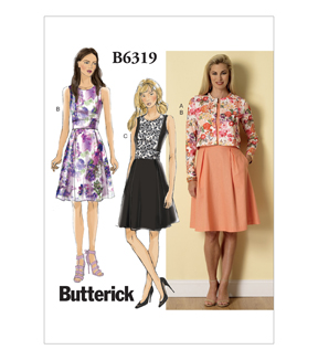 Butterick Misses Dress-B6319