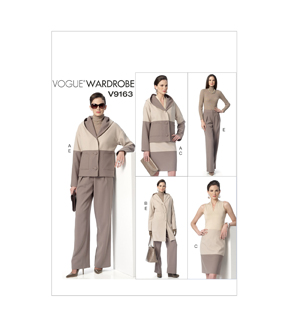 Vogue Patterns Misses Casual-V9163