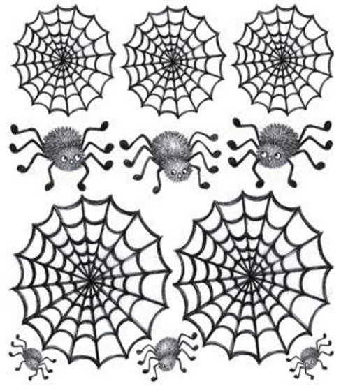 Jolee\u0027s Boutique Dimensional Embellishments-Cute Spiders & Webs