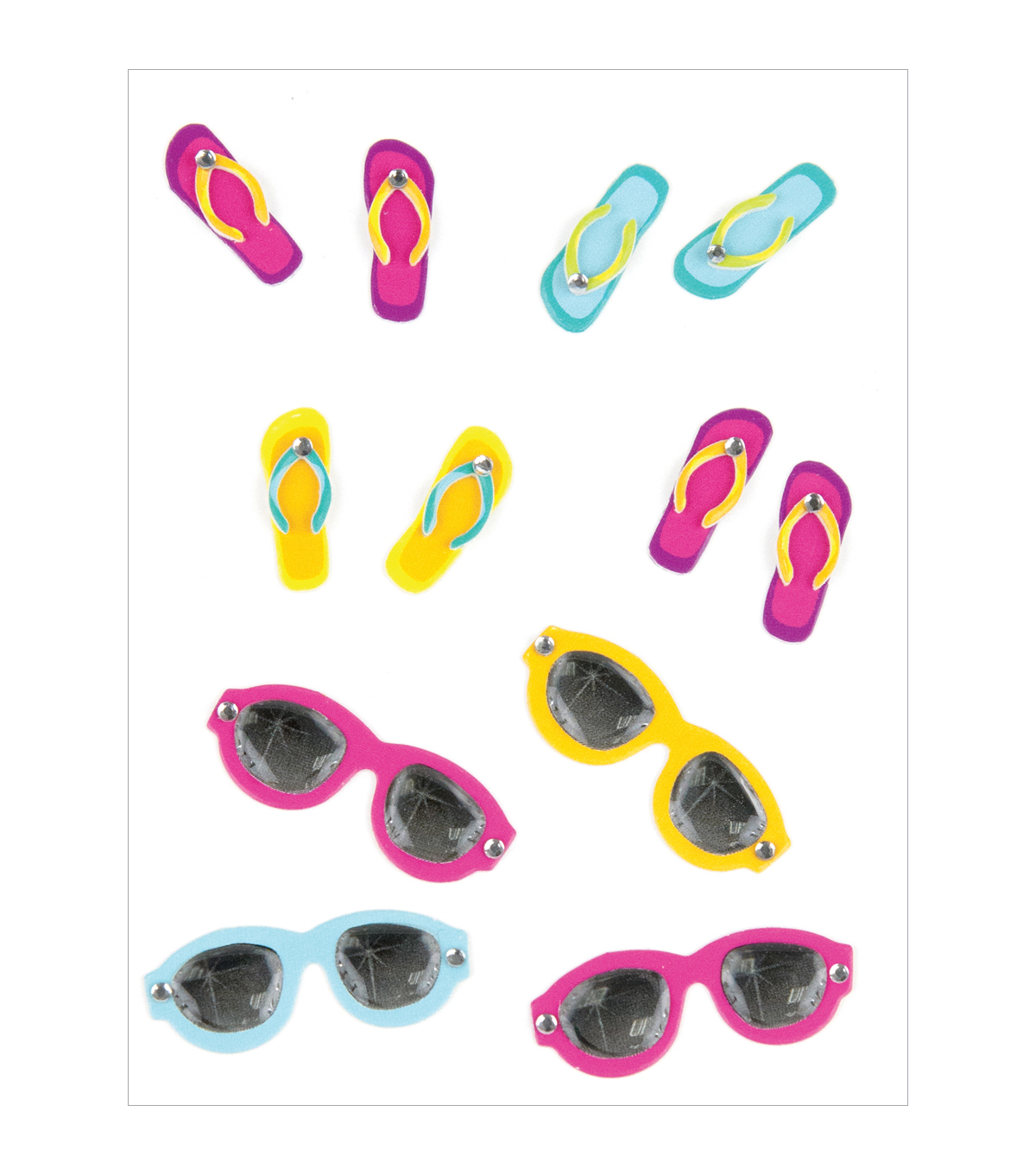 FLIPFLOPS AND SUNGLASSES