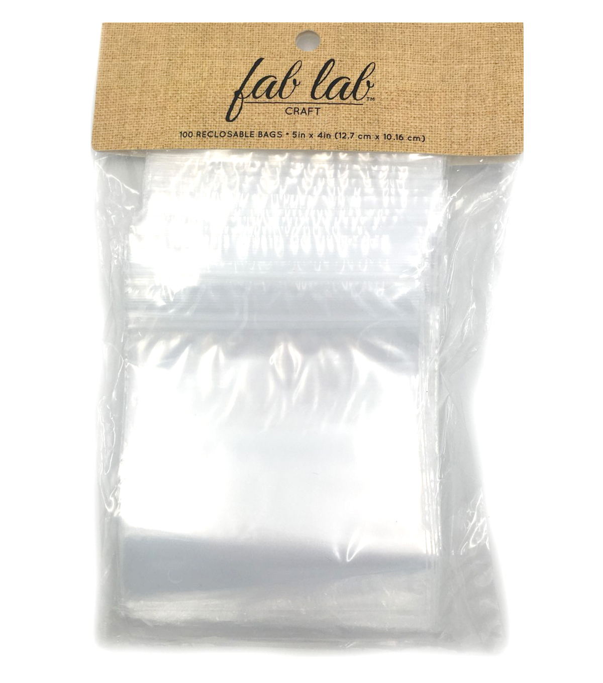 "Darice® 4""x5"" Reclosable Polybag"