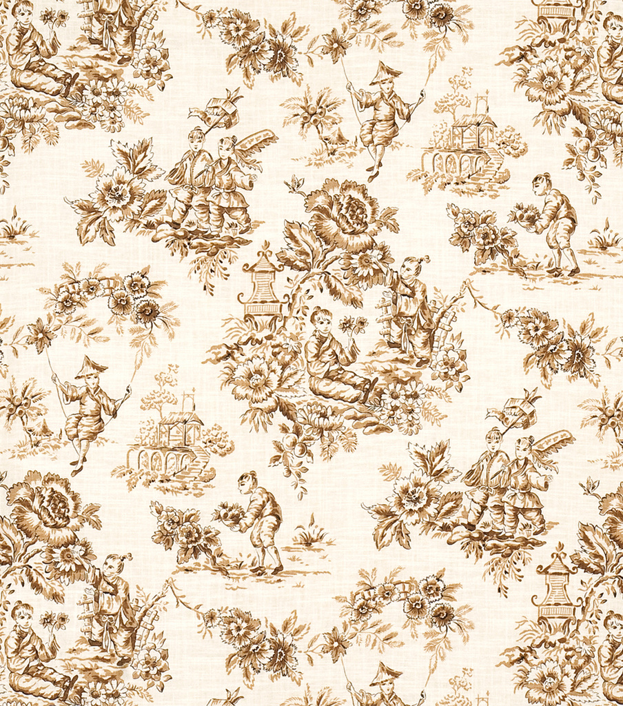 Home Decor 8\u0022x8\u0022 Fabric Swatch-Jaclyn Smith Alysssa-Caramel