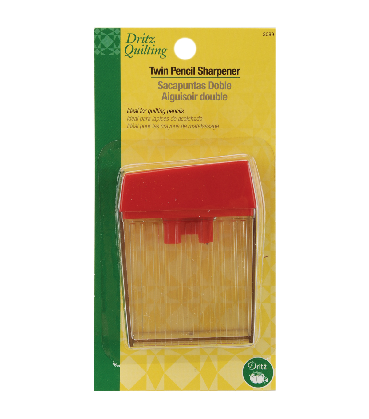 Dritz Quilting Twin Pencil Sharpener