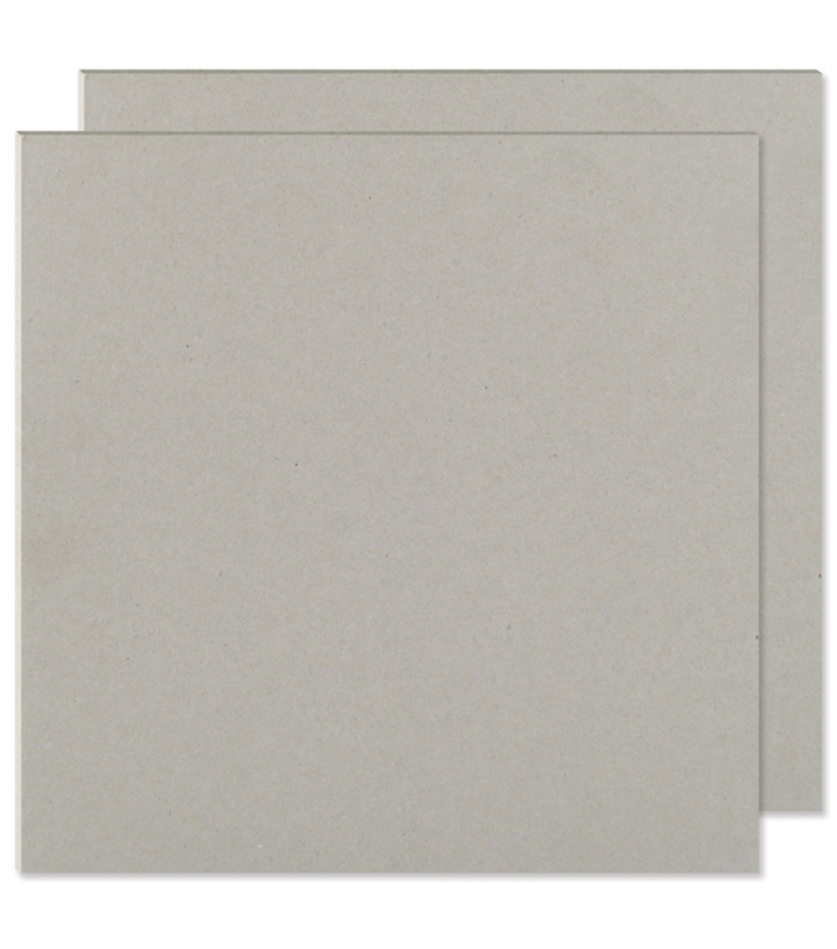 "We R Memory Keepers 6""x6"" Cinch Book Board-2PK/Gray"