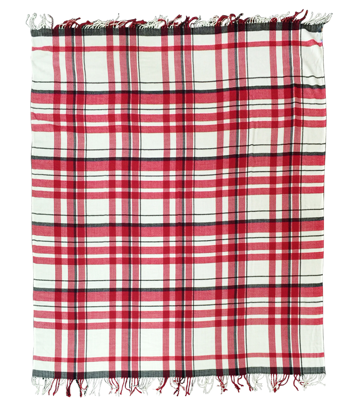 Maker's Holiday Throw Blanket-Plaid