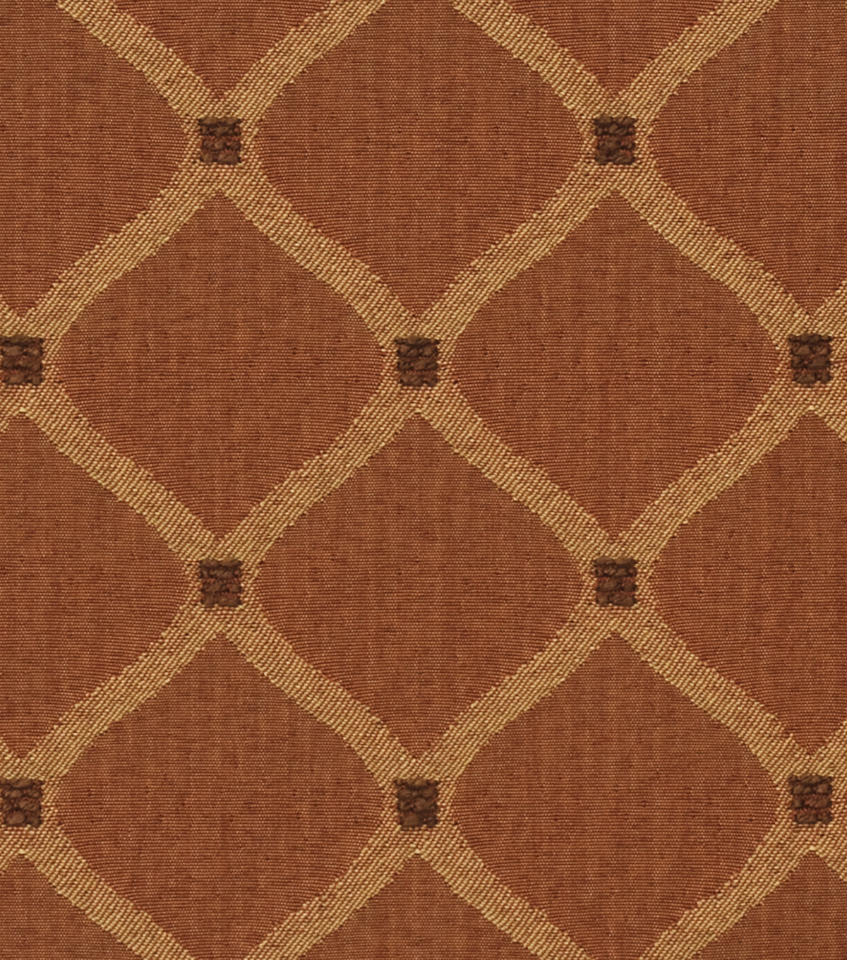 Home Decor 8\u0022x8\u0022 Fabric Swatch-Jaclyn Smith Newark-Tabasco