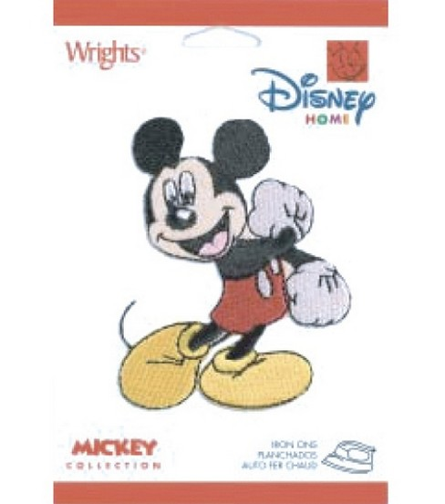 Disney® Iron On Appliques-Mickey Mouse