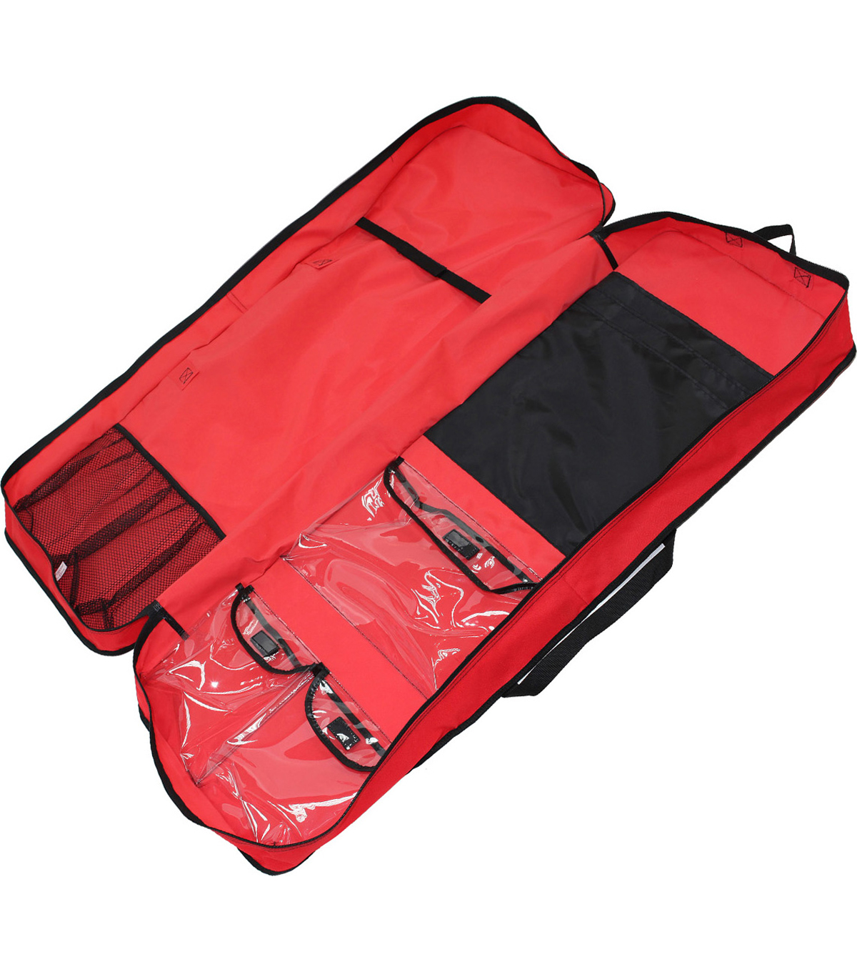 Gift Wrap Storage Organizer-Red