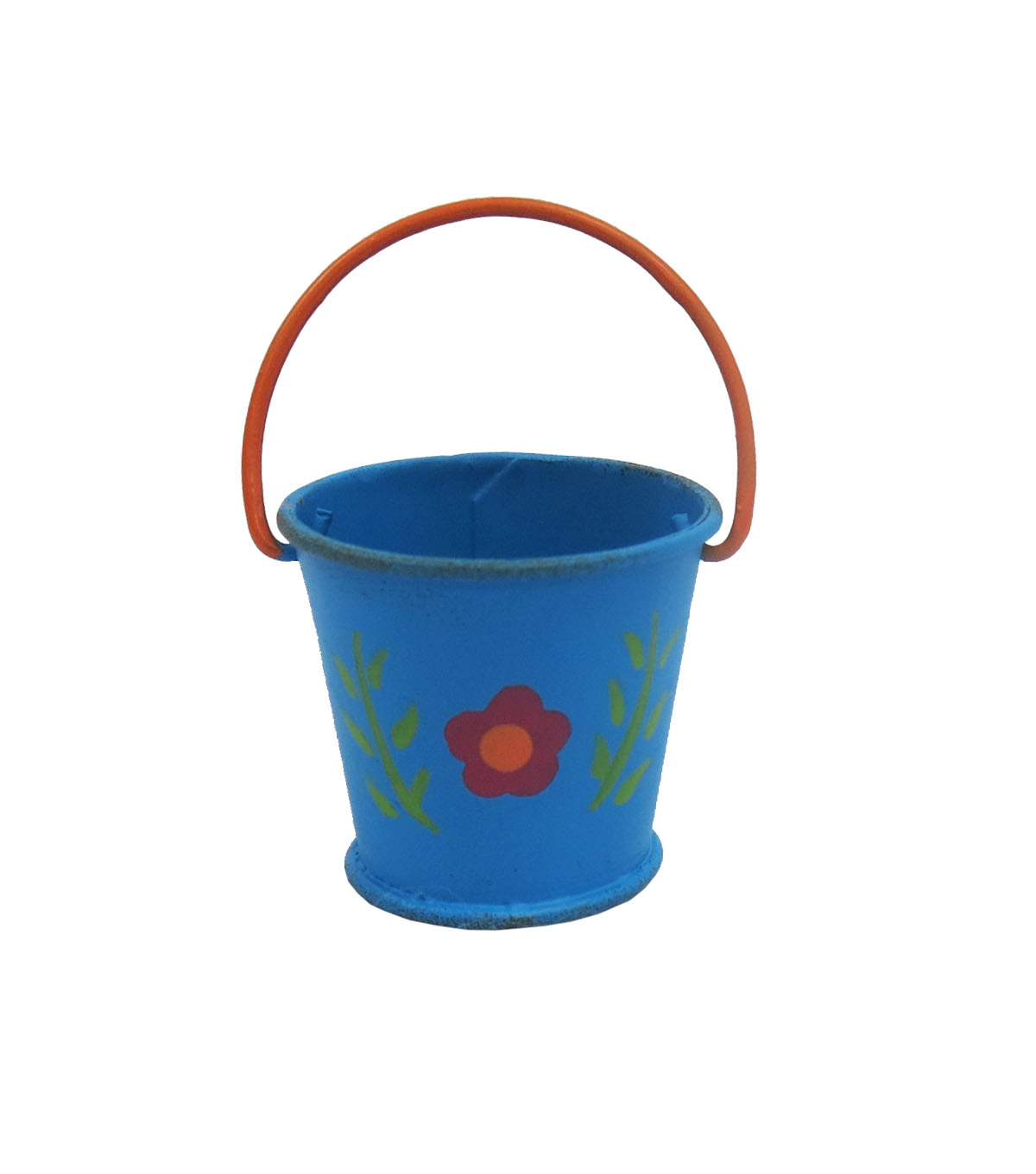Fairy Garden Metal Flower Bucket