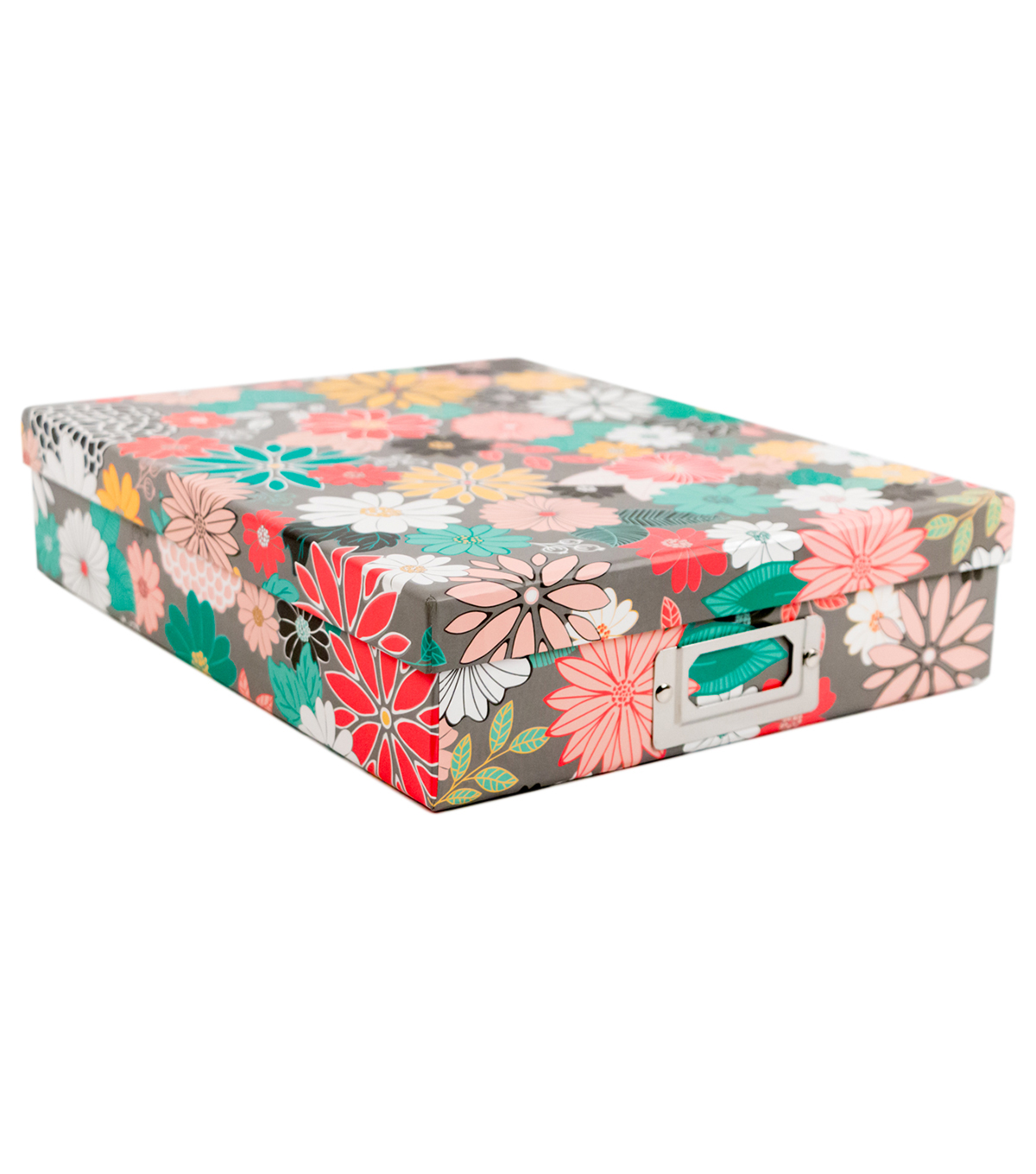 DCWV Document Box: 8-1/2\u0022x11\u0022  Garden Floral box