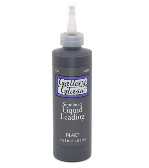 Gallery Glass Liquid Lead Black 8 oz