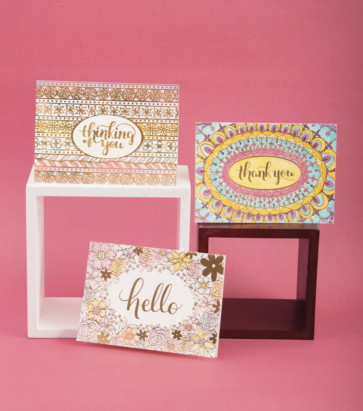 DCWV Paint & Create Cards & envelopes: Frames