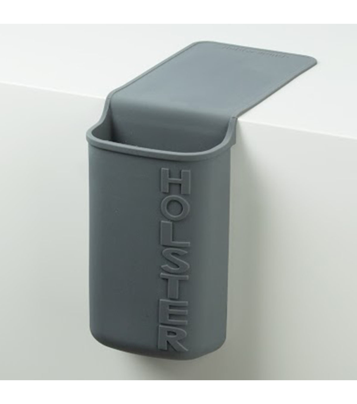 Holster Brands Lil\u0027 Holster Any Heat Resistant Silicone Holder-Gray