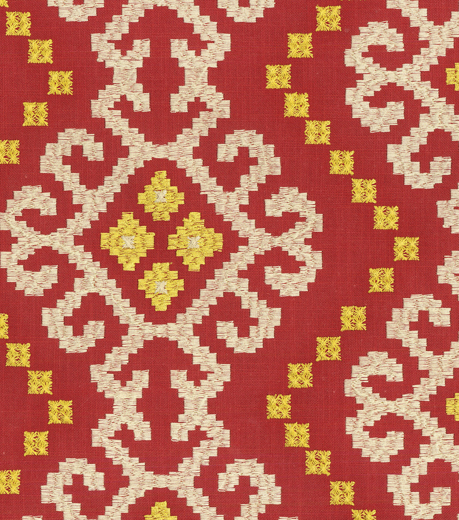 Waverly Upholstery Fabric 55\u0022-Kurta Embroidery/Jewel