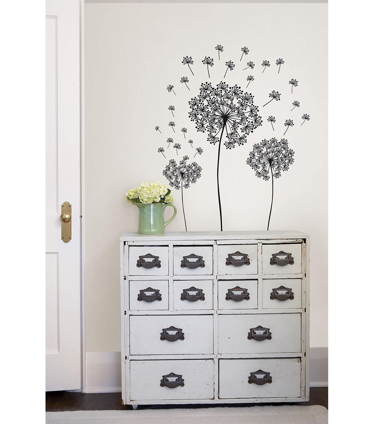 Wall Pops Dandelion Wall Art Decal Kit, 29 Piece Set