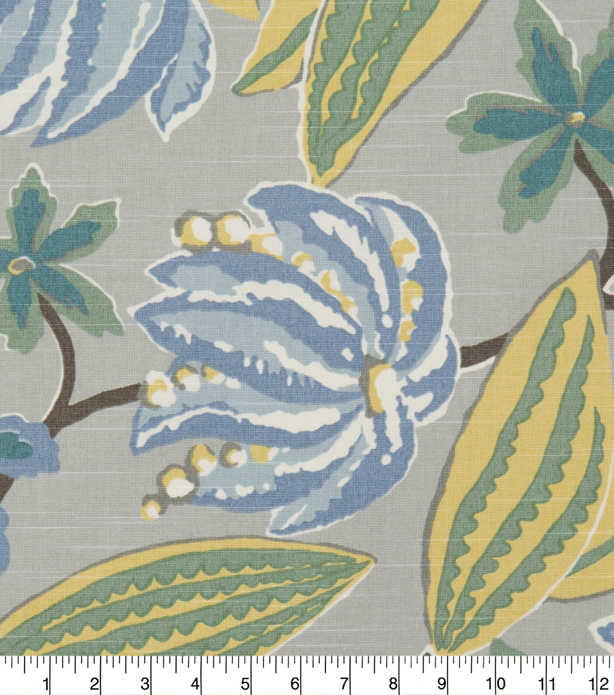 Robert Allen @ Home Print Fabric 55\u0022-Bright Flora Rain