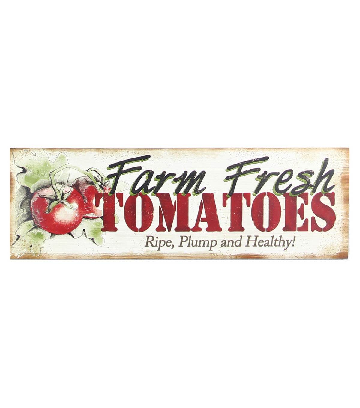 Wood Wall Plaque-Tomatoes
