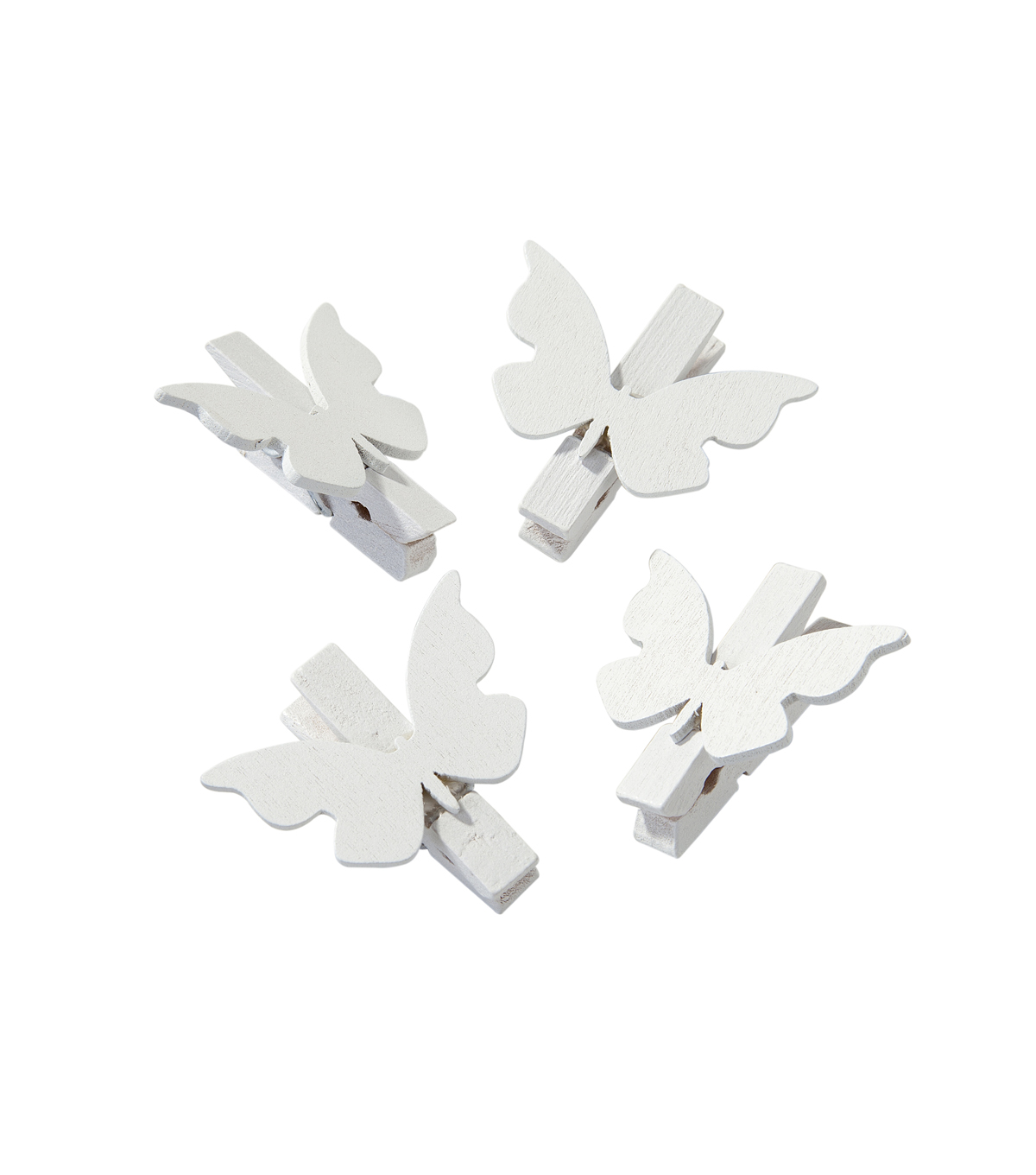 Something In The Air White Butterfly Pegs 20pk