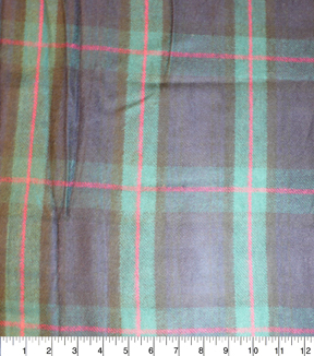 Perfectly Plaid Fabric-Acrylic Navy Green Fuchsia
