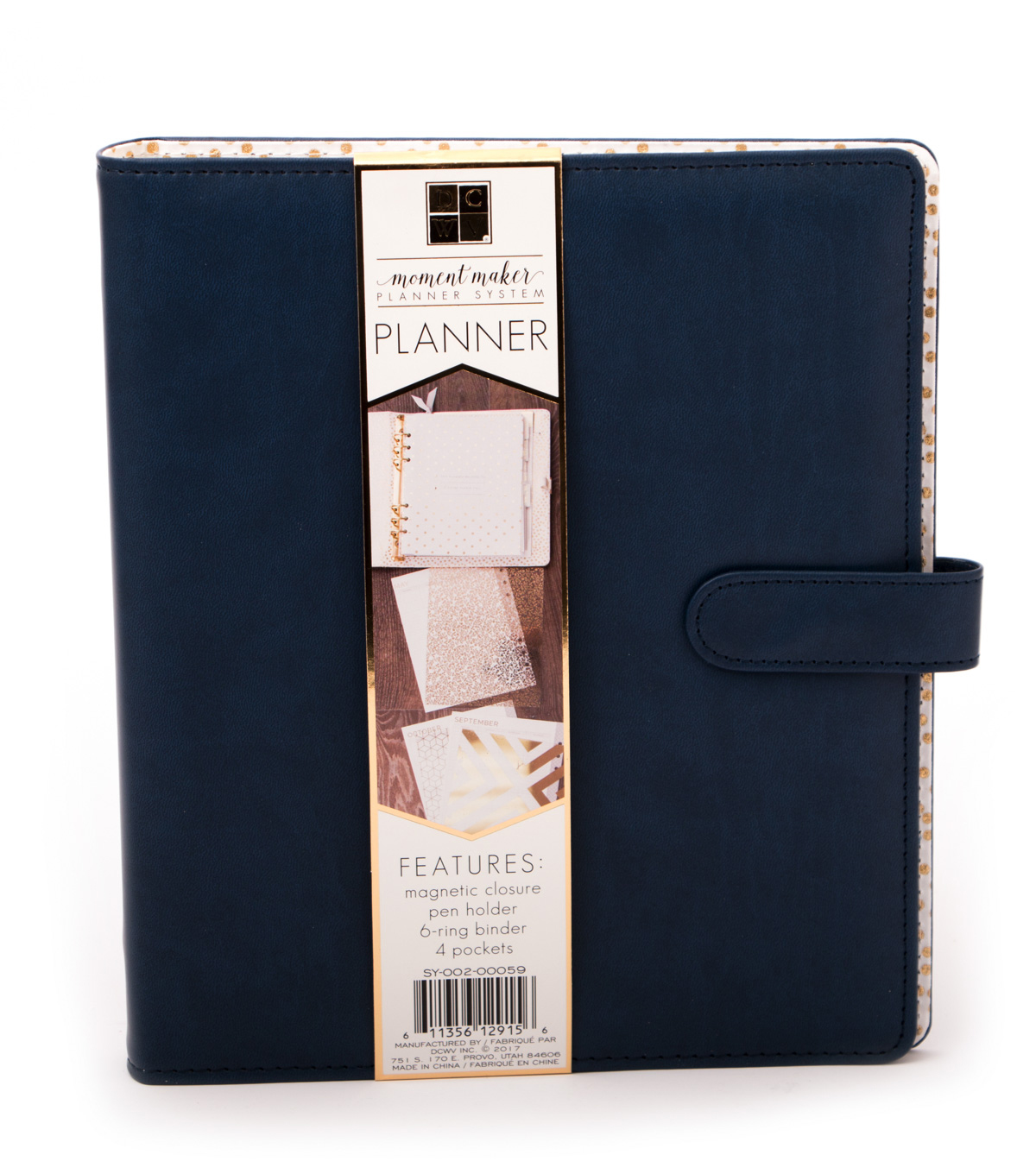 DCWV Moment Maker Planner-Navy