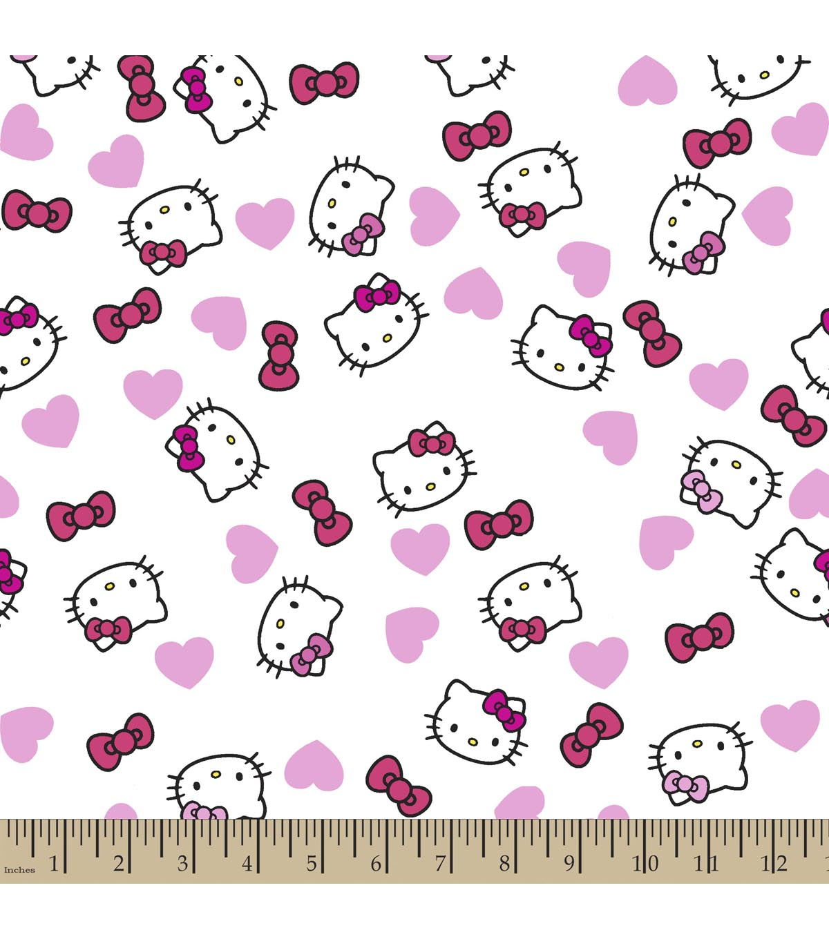 Sanrio Hello Kitty Print Fabric Headshot Joann