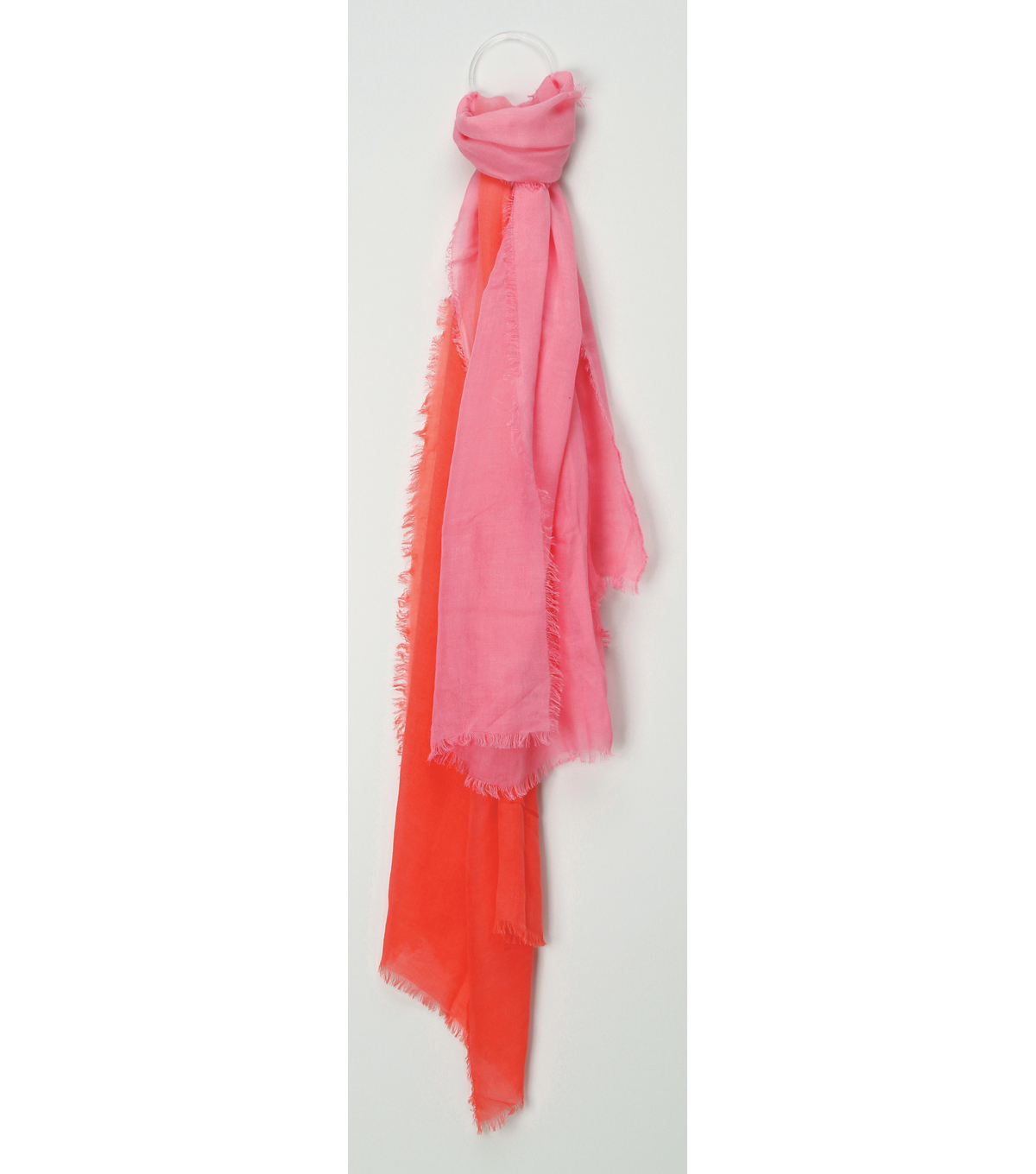 Oxford Street Jewelry Co. Pale to Hot Pink Scarf