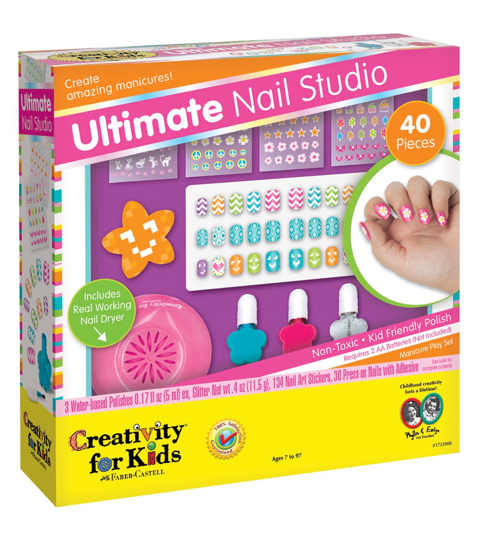 ... Creativity For Kids Kit Ultimate Nail Studio, , Hi Res ...