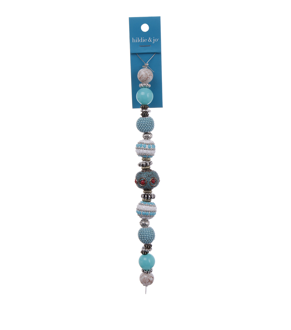 hildie & jo™ 7'' Strung Beads-Turquoise