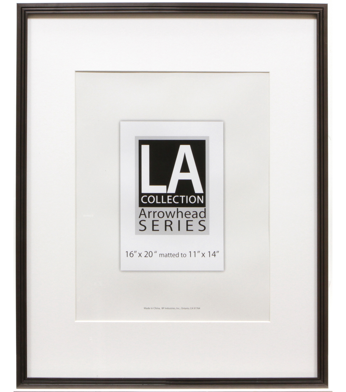 LA Collection Metal Wall Frame 16X20-Pewter