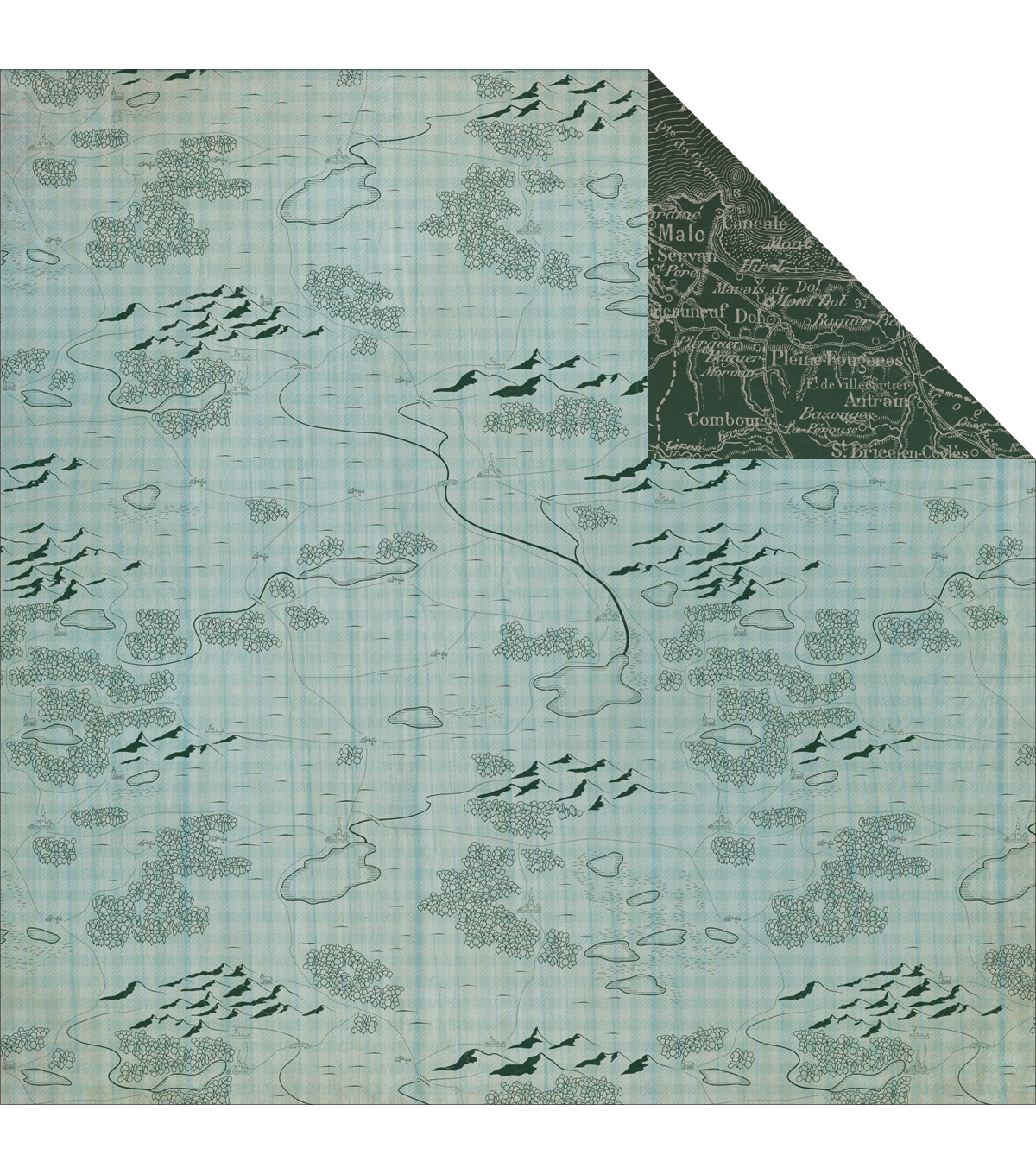 Kaisercraft Outdoor Trail Hinterland Double-Sided Cardstock