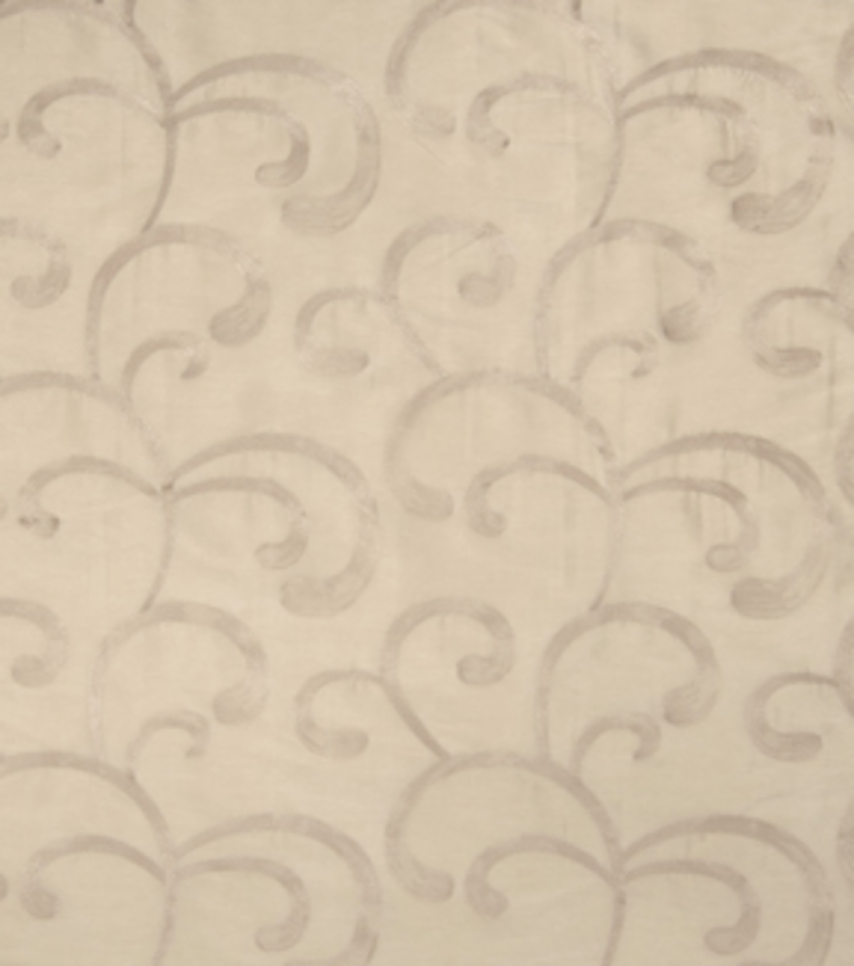 "Home Decor 8""x8"" Fabric Swatch-Print Fabric Eaton Square Sadler Champagne"