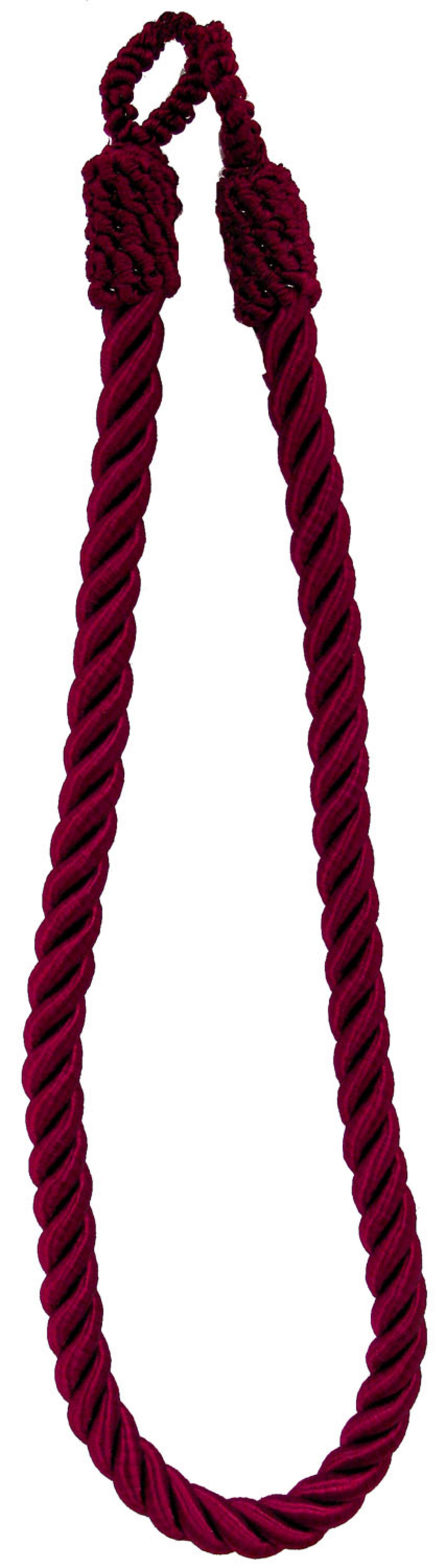 Ss 26in Wine Tieback Twisted 3-ply