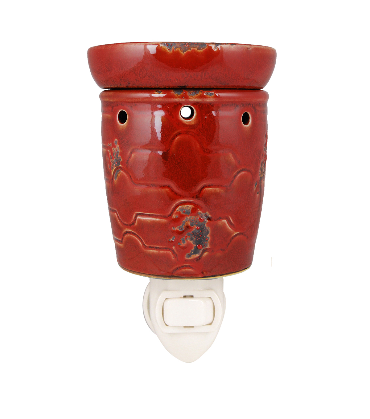 Hudson 43™ Candle & Light Collection Red Historic Plug In