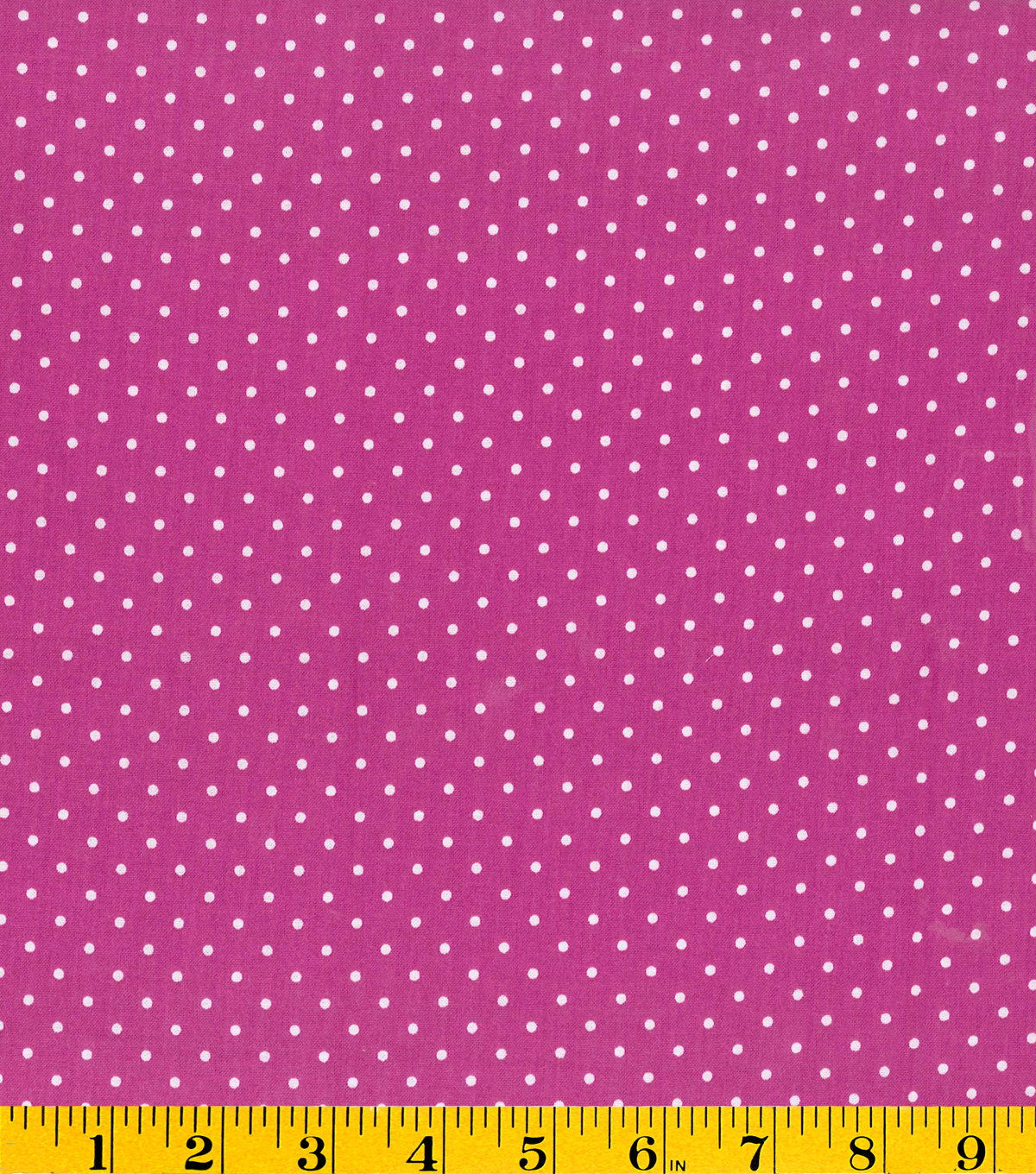 Stonehill Collection Cotton Fabric - Dots Magenta